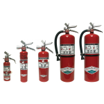Halotron 1 Clean Agent Extinguishers
