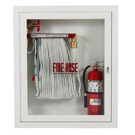 Hose Rack and Extinguisher Cabinet